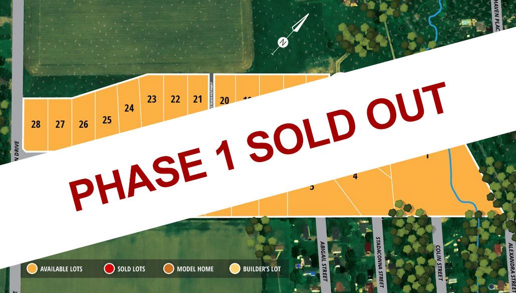 Hogan Heights Phase 1 Sold Out